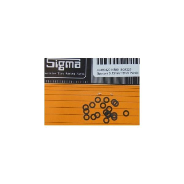 Sigma Plastic spacers 0,13mm