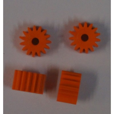 Soft plastic 15 tands anglewinder pinion.