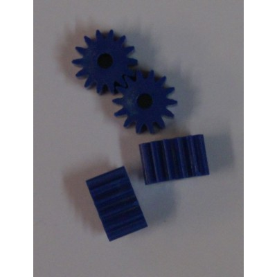Soft plastic 14 tands anglewinder pinion.