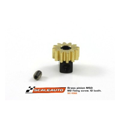 12 tands pinion