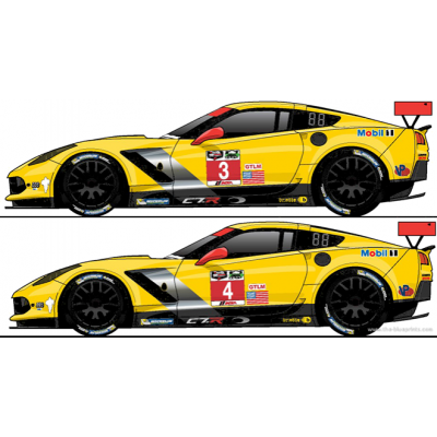 Corvette C7R Daytona 2015  car nr 3