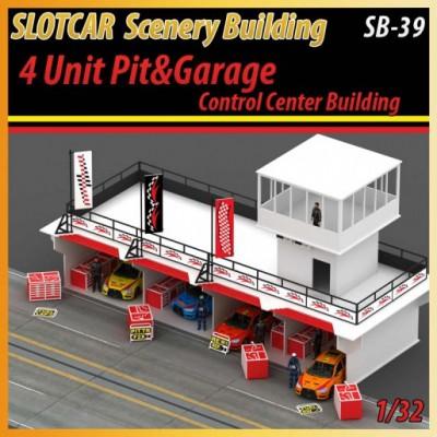 4 Unit Pit Stop & Garage Accessoreis