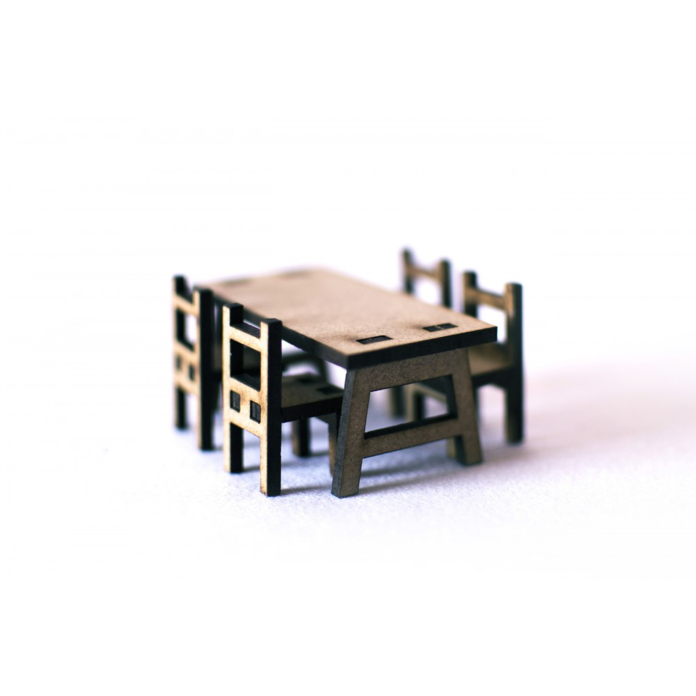 Table and chairs kit