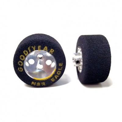 RTR Gummi dæk 26x14 3mm...