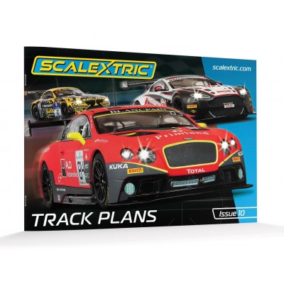 Scalextric Track Plans Book.