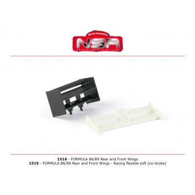 Formule 86/89 Rear and...
