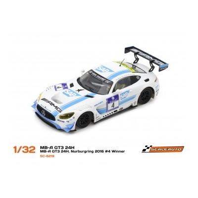 Mercedes AMG GT3 - vinder...