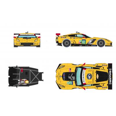 C7R Le Mans 2015.