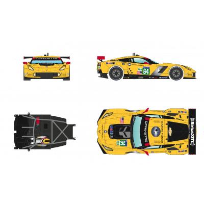 C7R Le Mans vinder i 2015.