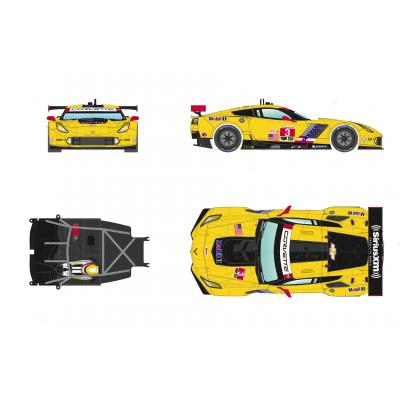 Corvette C7R 24h Daytona 2016.