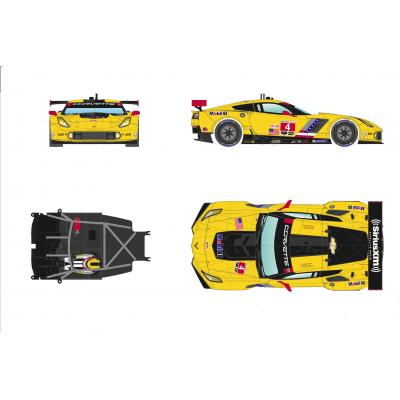 Coevette C7R 24h Daytona 2016.
