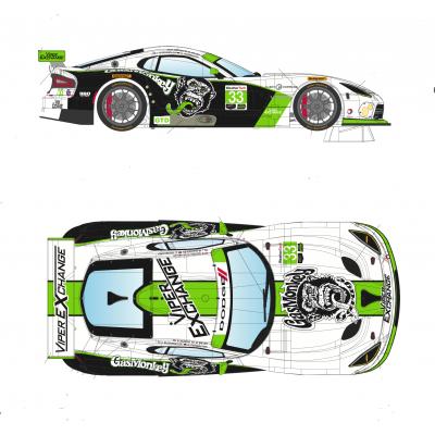 Viper SRT-GTS Daytona 2016.