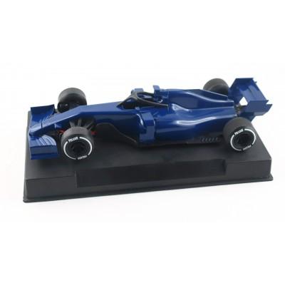 Formel 1 i blå.