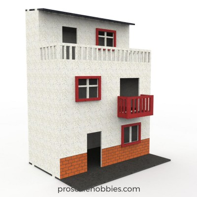 Town house scale model (6).