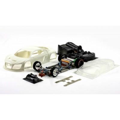 Audi LMS GT3 hvidt kit med...