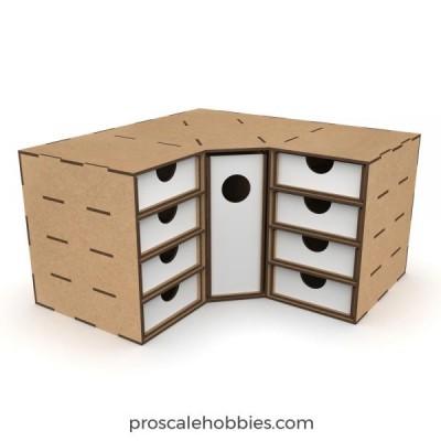 Corner drawers 4