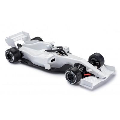 Formel 1 i hvid.