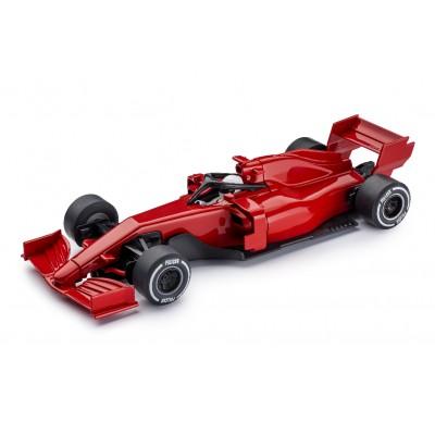 Formel 1 i rød.