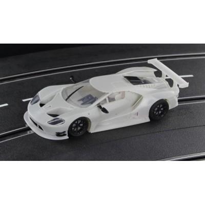 Ford GT GT3 White Kit.