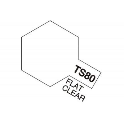 TS-80 Flat clear.