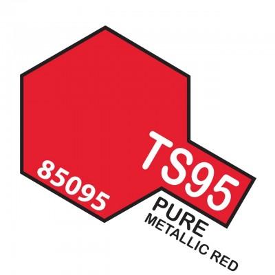 TS-95 Pure Metallic red.