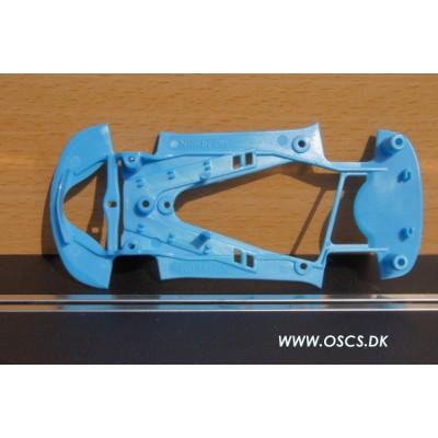 Corvette C6R blåt chassis