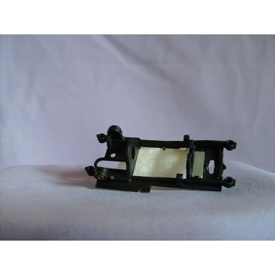 Inline motor mount flex