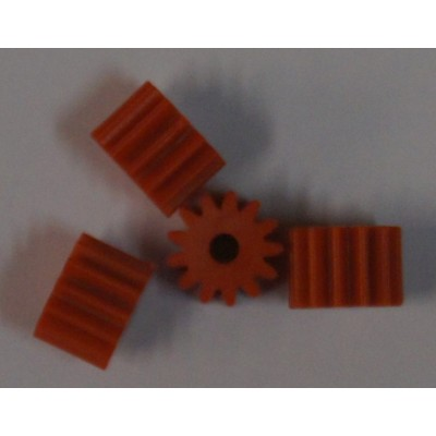 Soft plastic 13 tands sidewinder pinion.