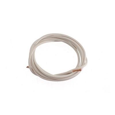 Hvidt Silicone kabel