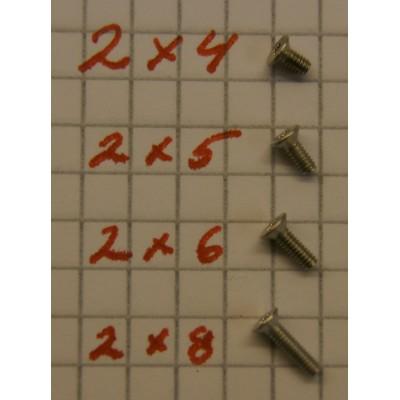 2 x 4 torx skrue