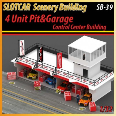 4 Unit Pit Stop & Garage Accessoreis